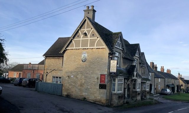 The New Inn Willersey on adventures in our van blog
